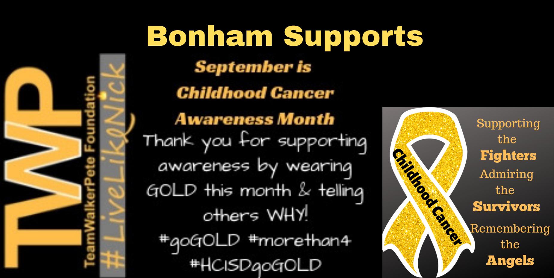 September Child Cancer Awareness Month