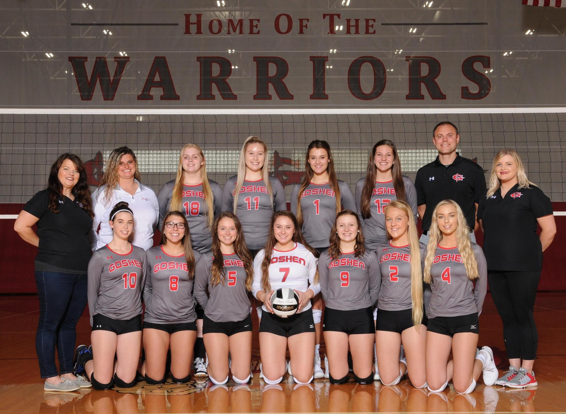 2018 GHS volleyball