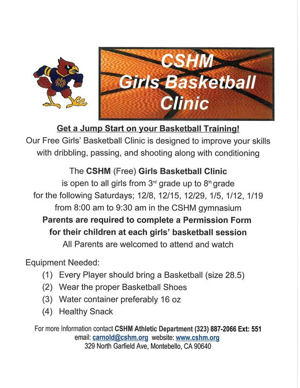 FREE Girls Basketball Clinic Thumbnail Image