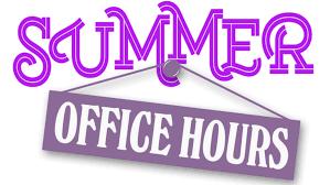 Sun - Summer Hours