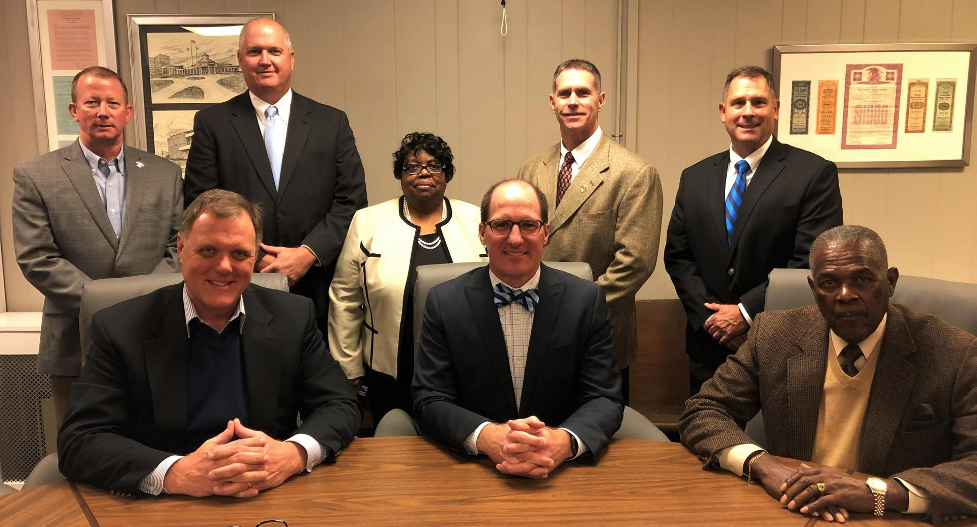 Members of the Tift County Board of Education