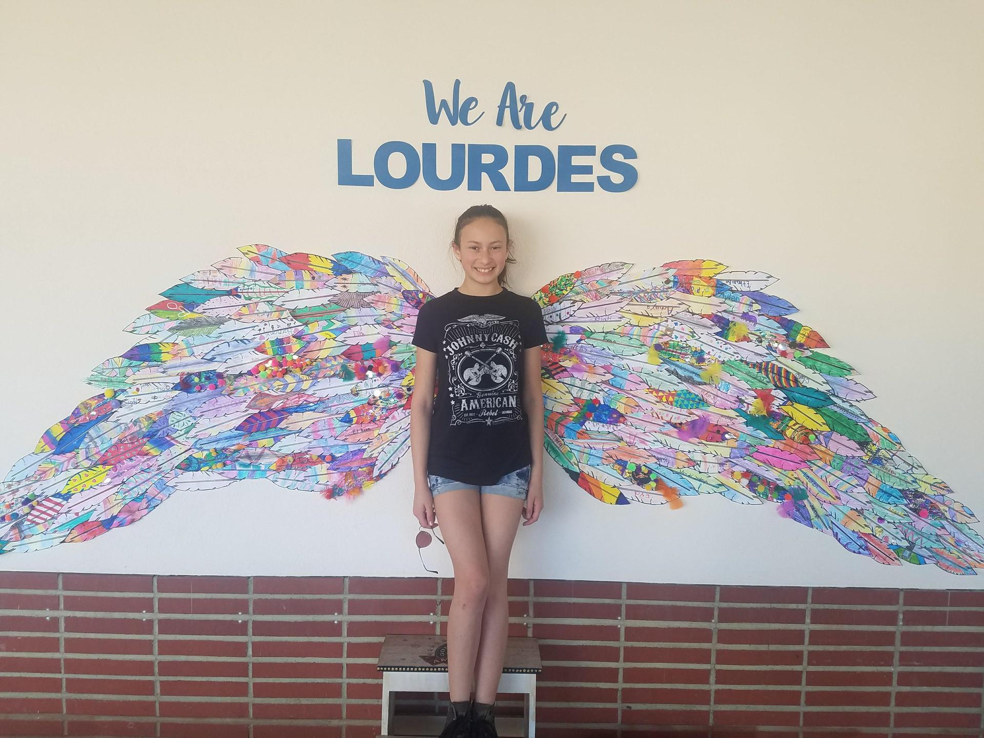 We are Lourdes.