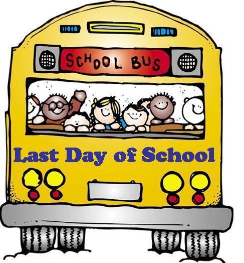 Bus last day of school