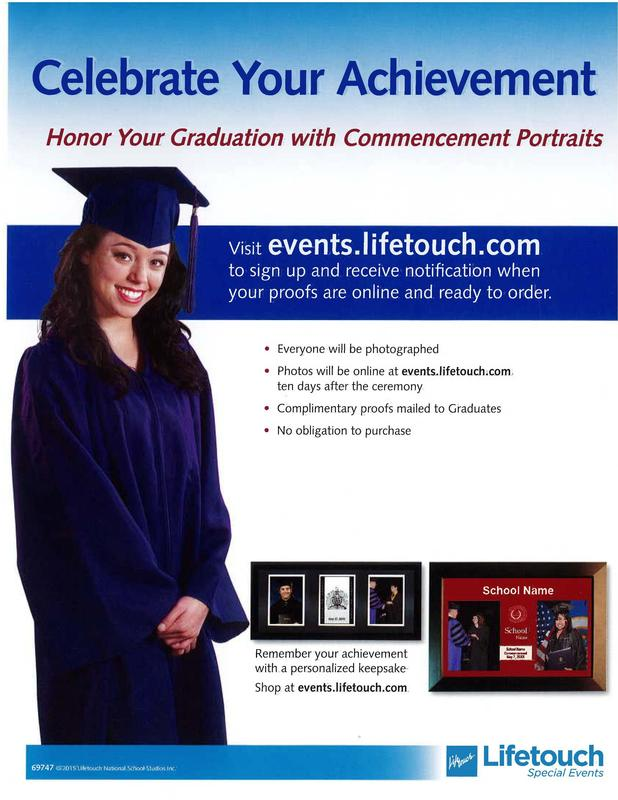 CLICK HERE for Graduation Diploma Photos @ Lifetouch Photography Available 10 days after the ceremony Thumbnail Image