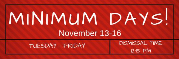 Minimum Days!