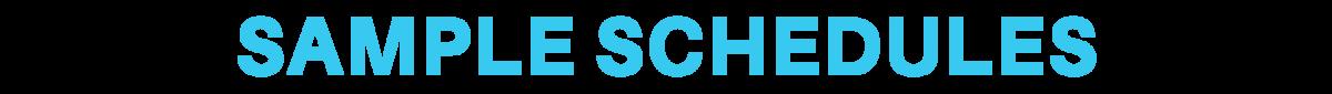 headline-sample-schedules