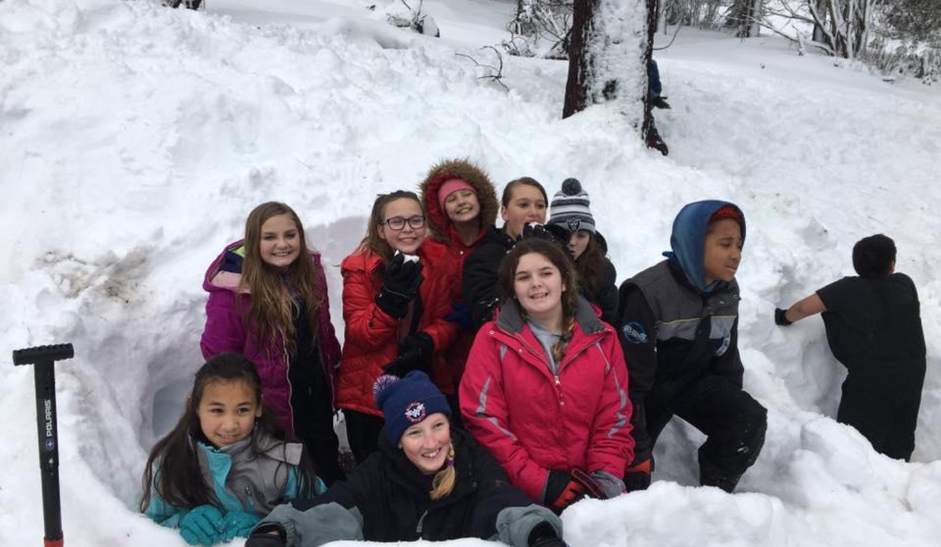 6th grade in snow