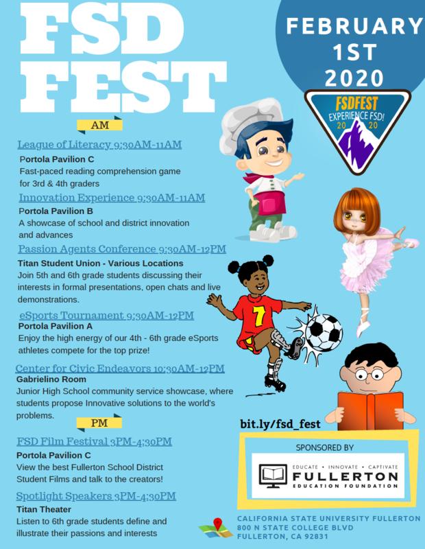FSD FEST Flyer
