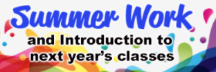 Get information about next years classes and summer work HERE Thumbnail Image