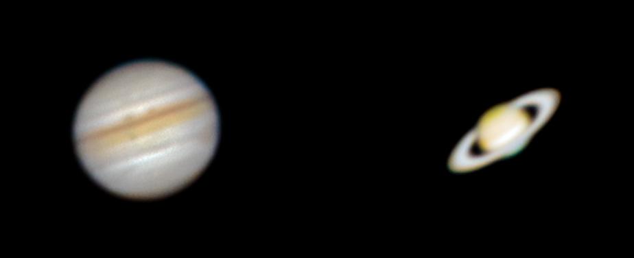 Jupiter & Saturn