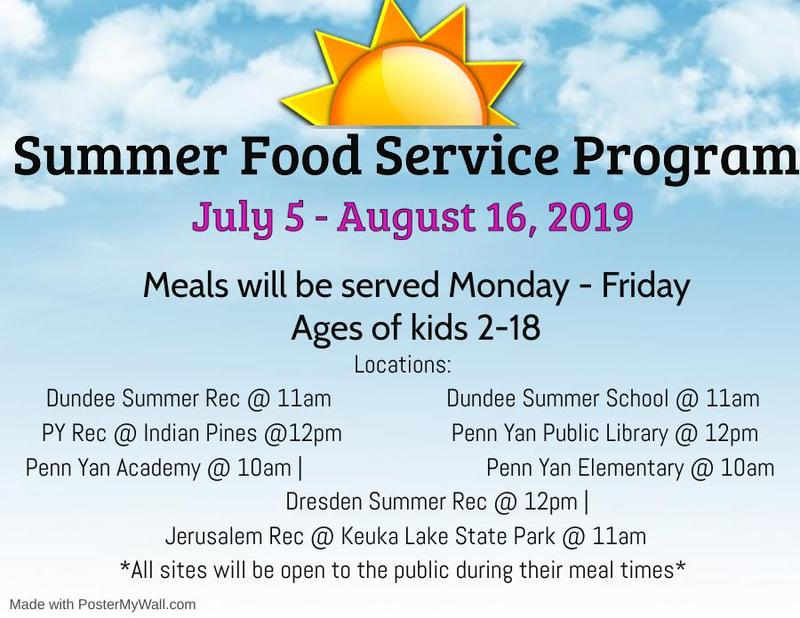 Summer Food Service Program Available Featured Photo