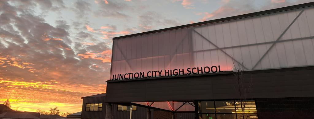 JCHS Moring Sunrise on New Building Addition