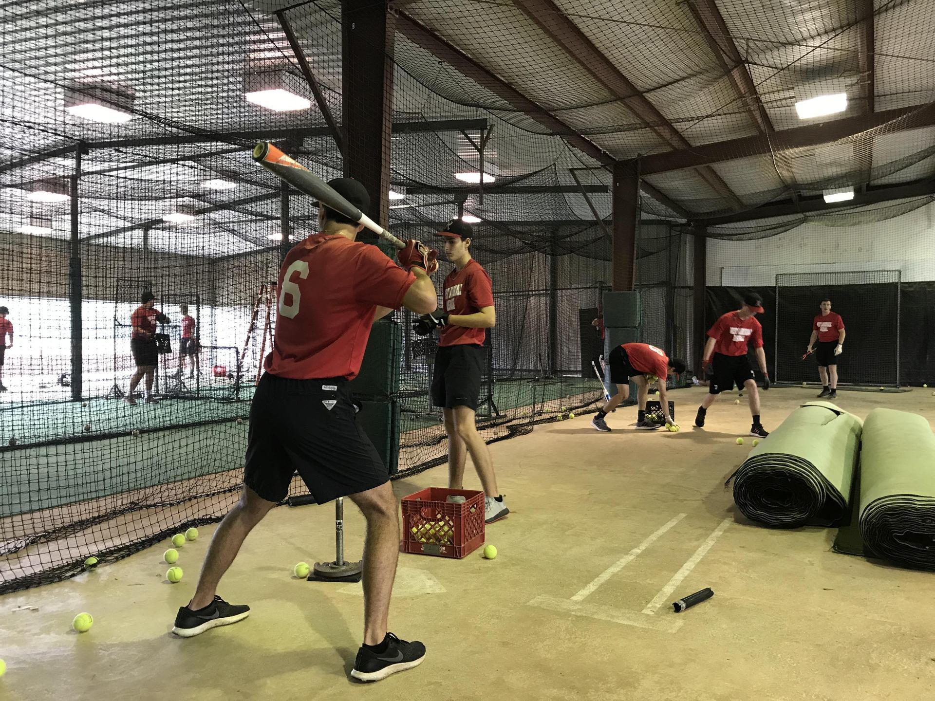 West Lauderdale High School Baseball Team practice