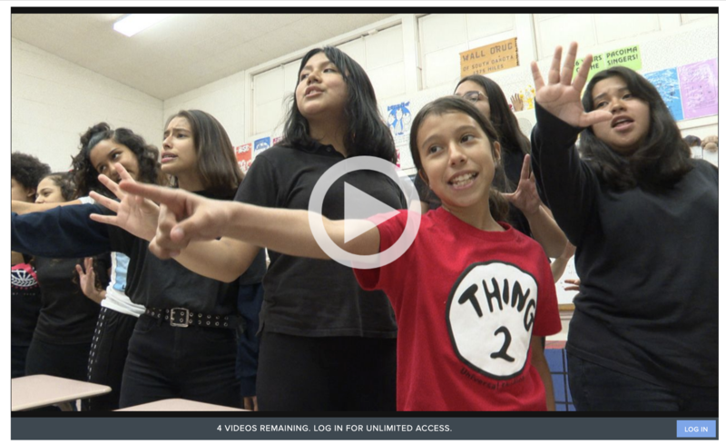 Pacoima Singers in the News! Featured Photo