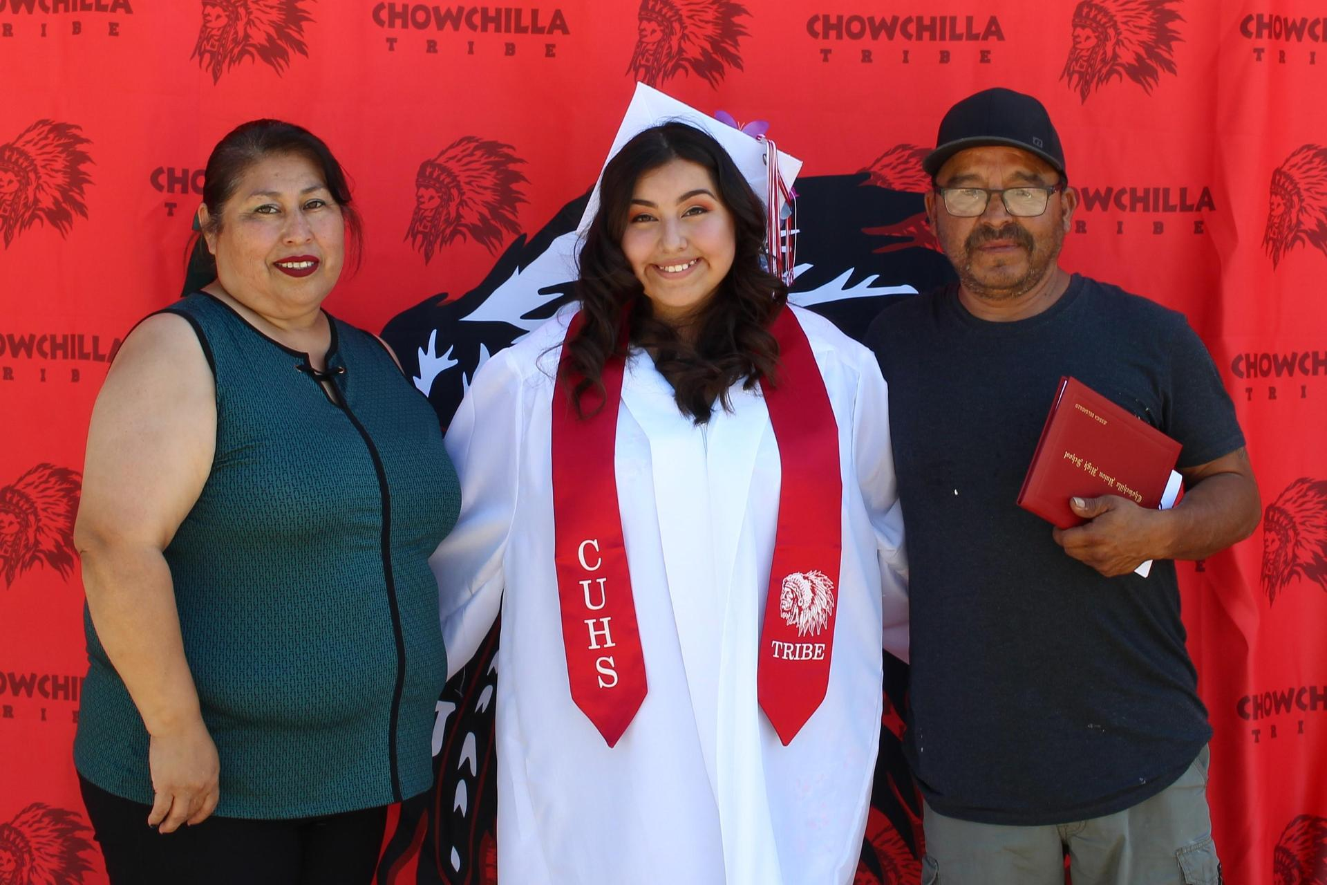 Jessica Delgadillo and family