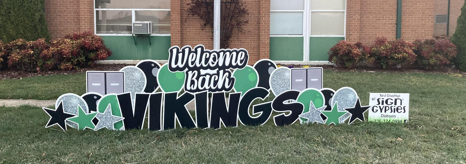 Welcome Back Vikings.