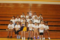 Students of La Paloma Elem. participated in the 2017-2018 SBHS Cheerleading camp this past saturday