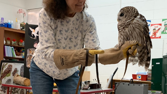 Visit from the Houston Audubon Society Featured Photo