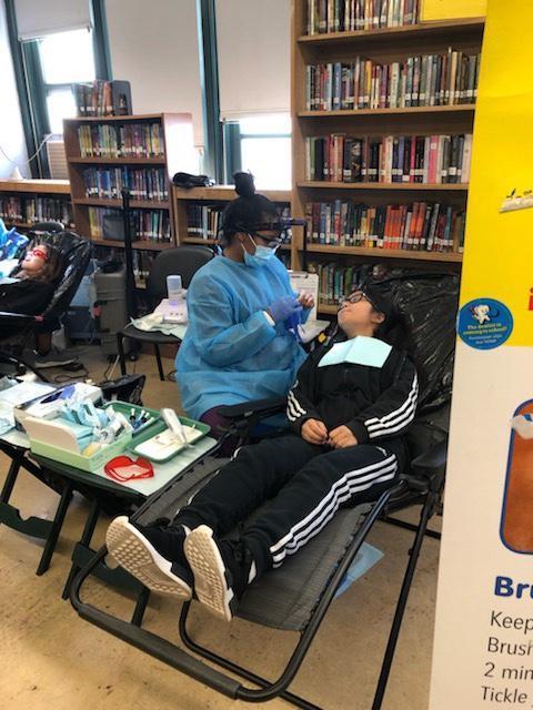 Smile NY Dental Program at Cavallaro - Photo - Student's evaluation
