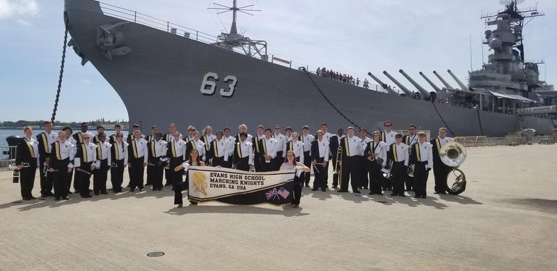 ehs band at battleship