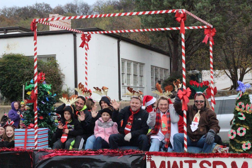 MWISD Board of Trustees in Christmas Parade