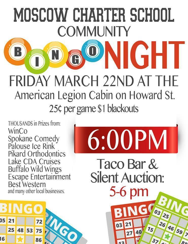 Bingo Night - March 22