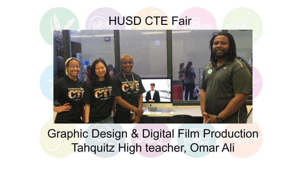 Graphic Design & Digital Film Production Tahquitz High teacher, Omar Ali