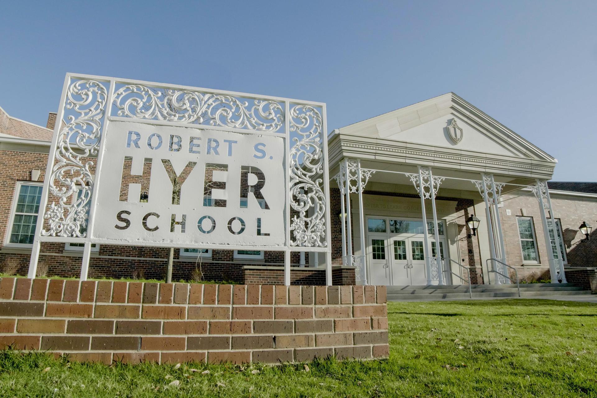 Hyer Elementary School front