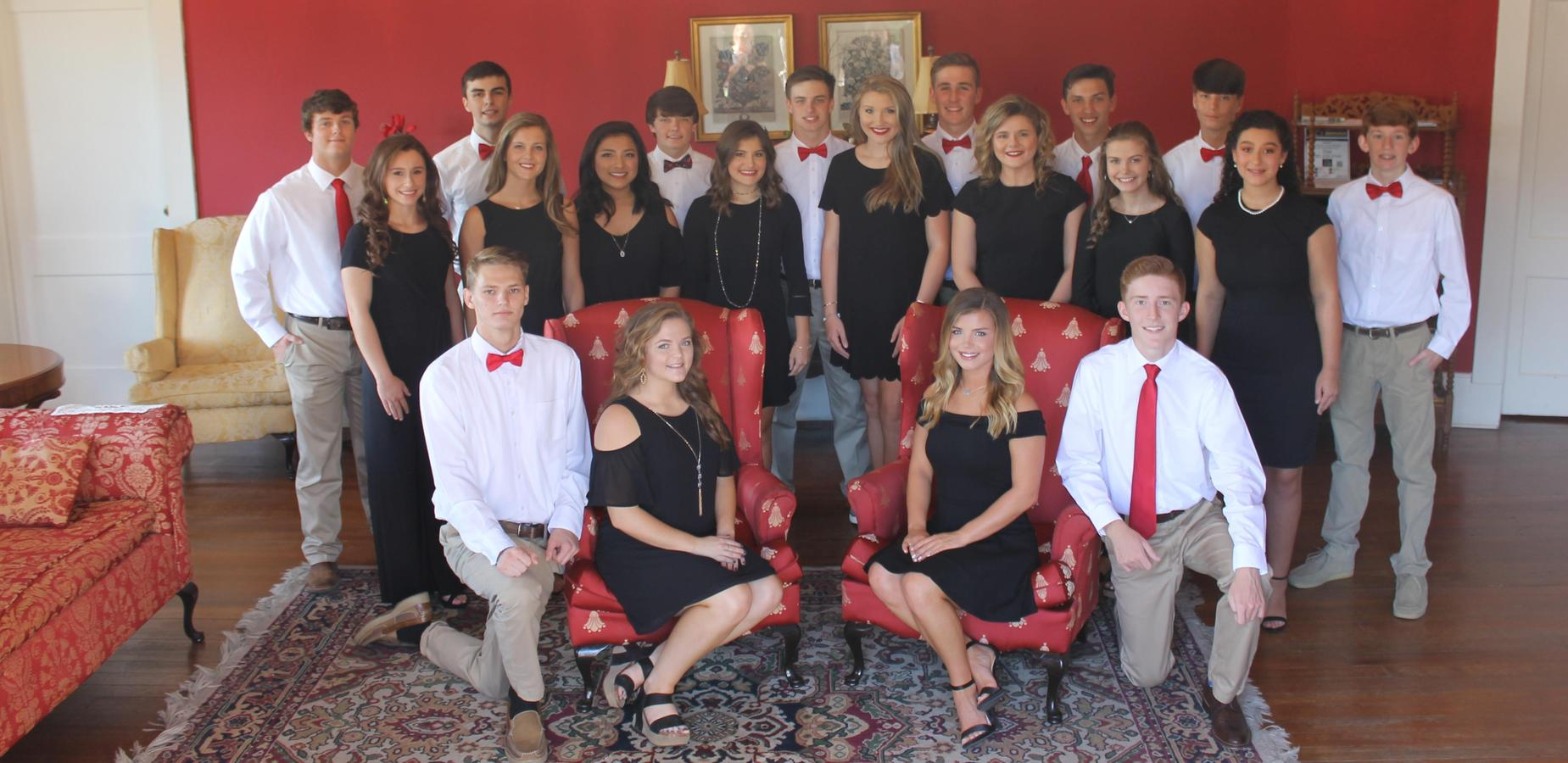 2018 Homecoming Court