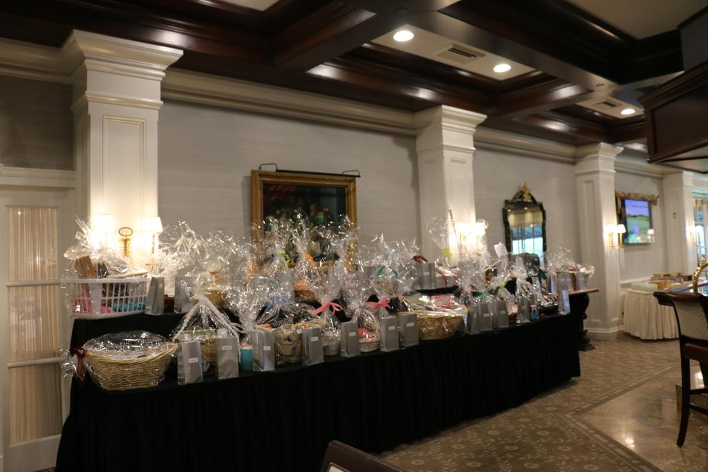 DDI's 2019 Annual Golf Classic raffle baskets