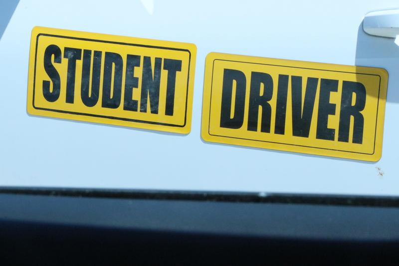 When you see STUDENT DRIVER stickers - you know it's SUMMER! Featured Photo