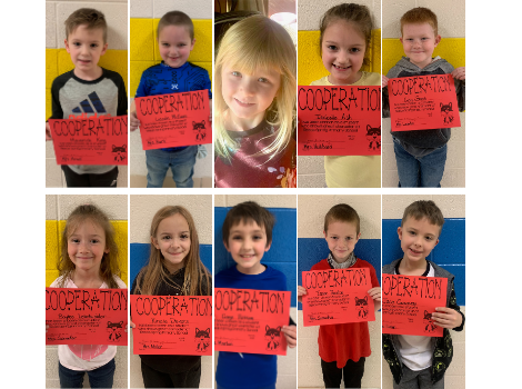 character students of the month