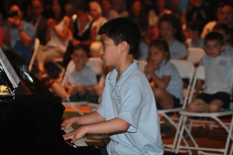 Talent Show piano