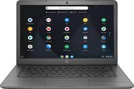 open Chromebook