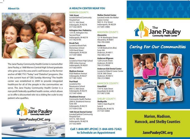 JANE PAULEY HEALTH CENTER Thumbnail Image