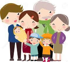 clip art family characters