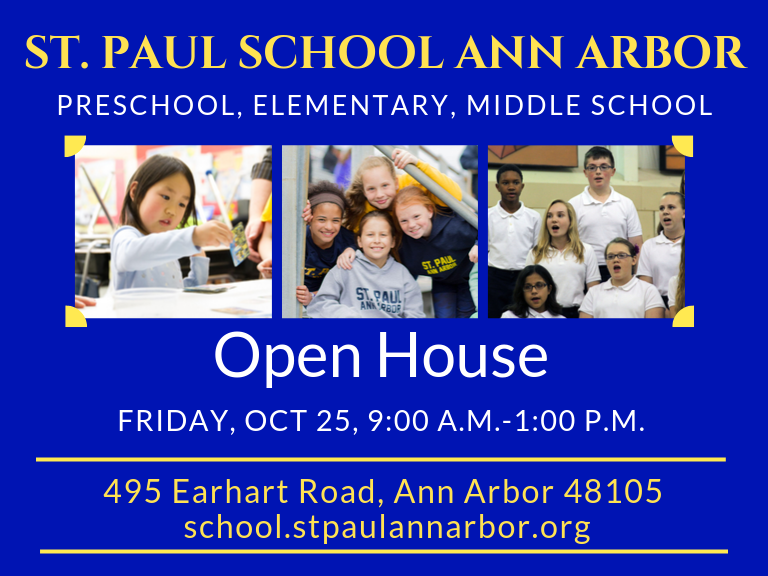 OPEN HOUSE Preschool & Kindergarten, November 15, 9AM - 1PM Thumbnail Image