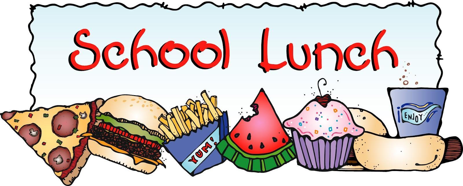 Breakfast and lunch clip art