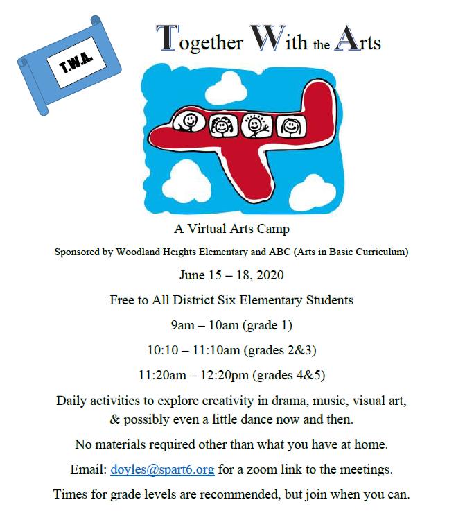Virtual Arts Camp