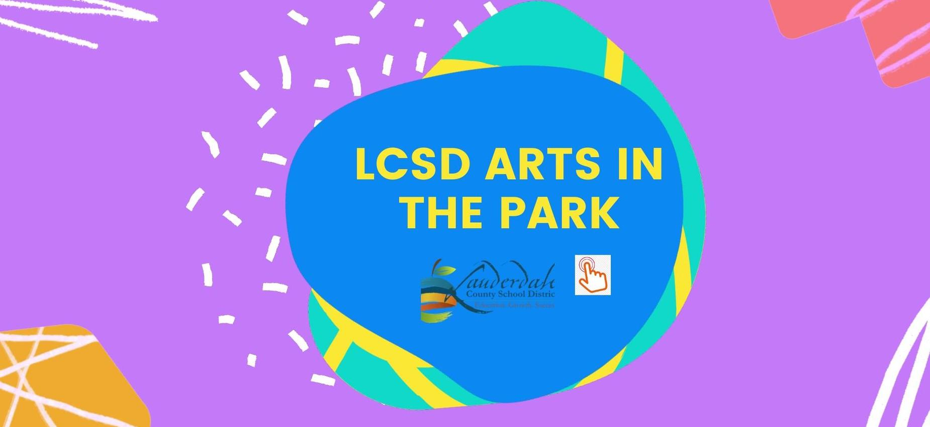 LCSD Arts in the Park Graphic