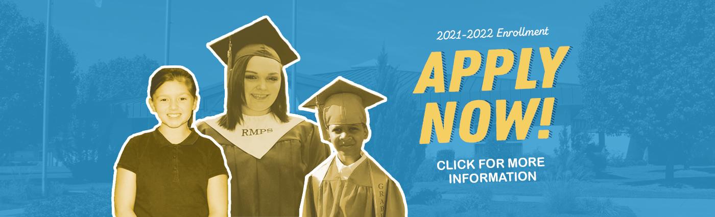 Apply Now for Enrollment 2021-2022