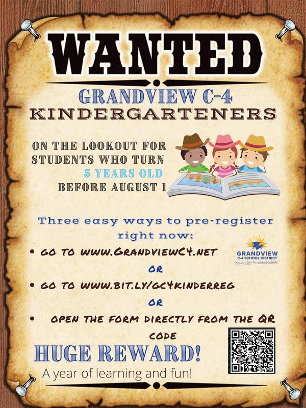 Wanted GC4 Kindergartners