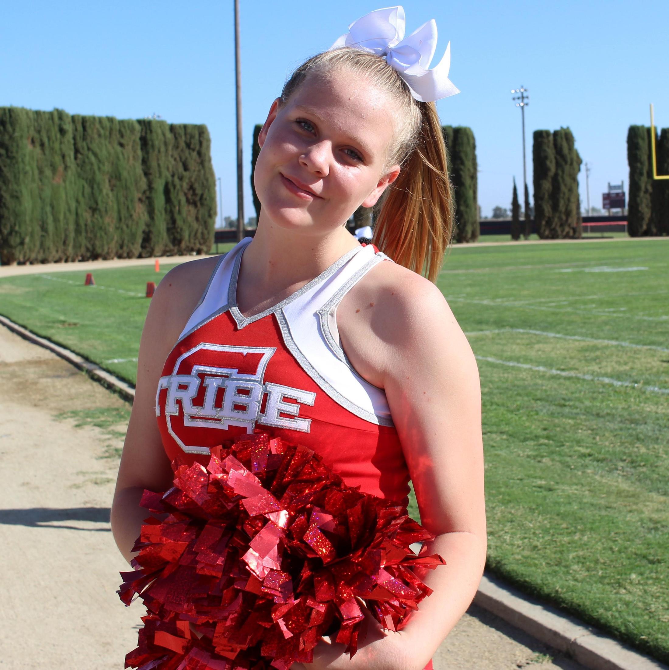Junior Varsity Cheerleaders