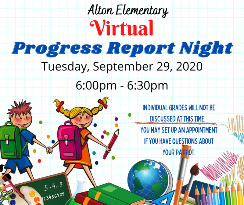 Progress Report Night/Noche de Informes Virtual Featured Photo