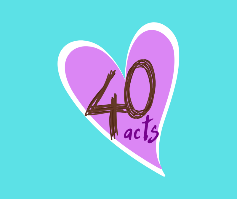 40 Days, 40 Acts Featured Photo