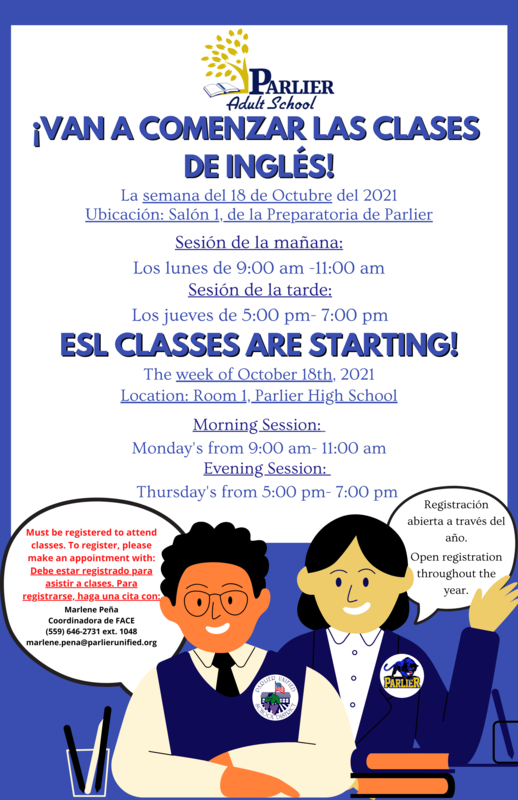 Van a comenzar las clases de inglés ESL Classes are starting (1).png