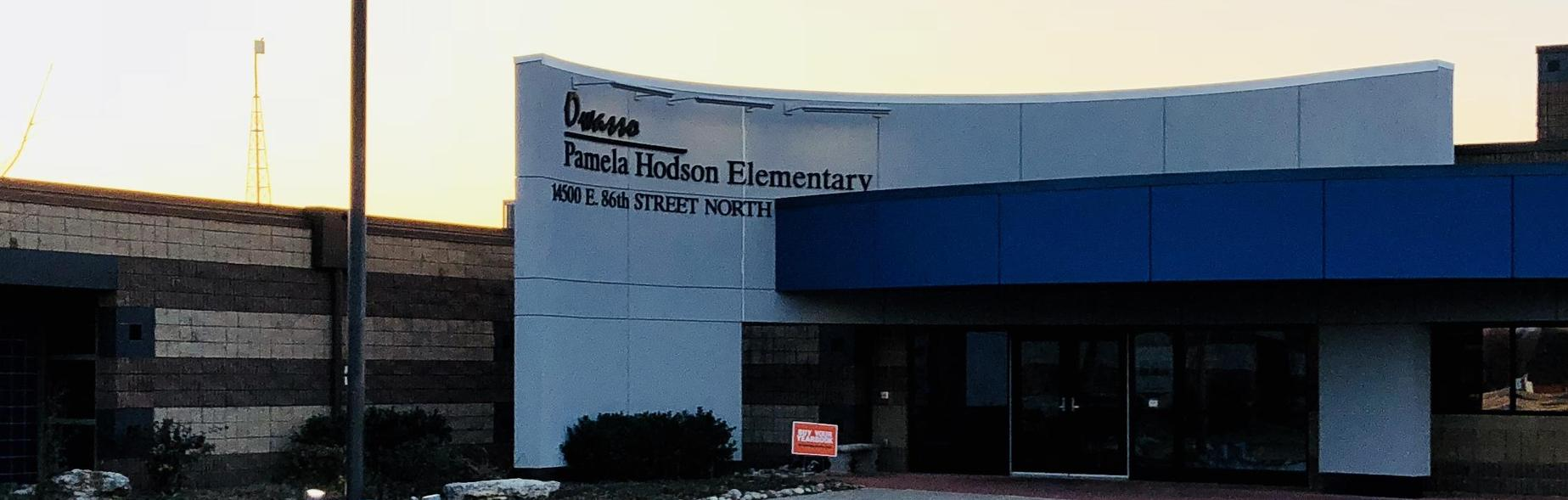 Front Entrance to Hodson
