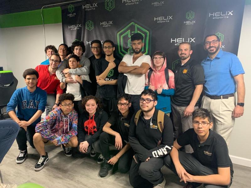 NBHS eSports team 1