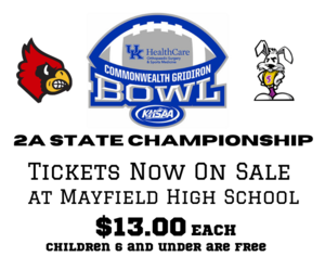 2A State Championship Tickets on Sale Now.