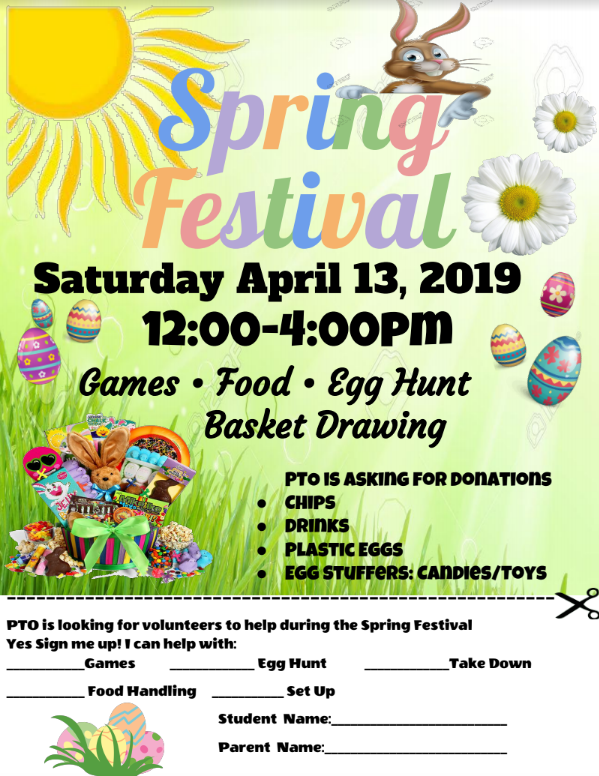 Spring Fling Festival on April 13, 2019